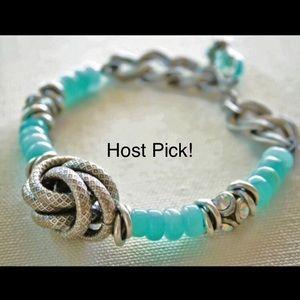 Jewelry - 🎉Host Pick!🎉Peruvian Opal Bracelet